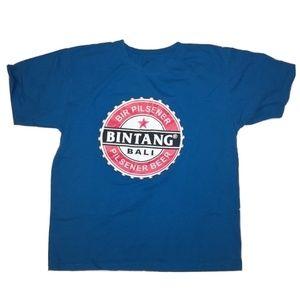 Bintang Bali Pilsner Beer T-Shirt Size Large/XL
